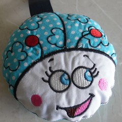 Bug softie / bath sponge