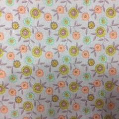 Fabric Cotton Floral Print