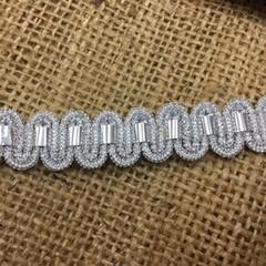 Silver Trim/Braid