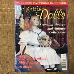 Book - Delightful Dolls - full sized patterns included.