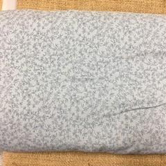 Fabric - pale blue flower print