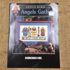 Dimensions Cross Stitch Leaflet - Angels Gather by Debbie Mumm
