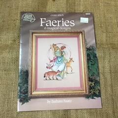 """Book - Cross Stitch called """"Faeries"""""""