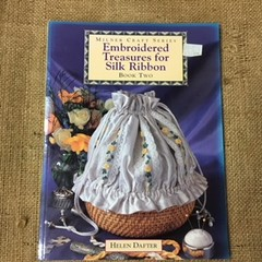 Book - Embroidered Treasures for Silk Ribbon - Book Two