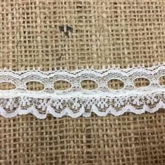 Cream Insertion Lace