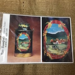Pattern Packet - Scene on Milk Can by Kate Broadfoot
