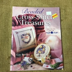 Book - Beaded Cross Stitch Treasures