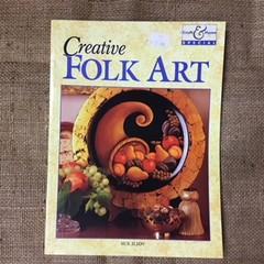 Book - Creative Folk Art by Sue Iliov