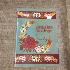 Book - Folk Art - Australian Native Folk Art Designs by Chris Roy
