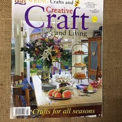Book - Spring Crafts and Creative Craft and Living