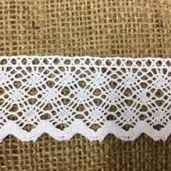 Cotton Lace Trim 3.5cm Wide