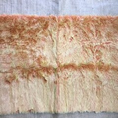 Synthetic Fur for toy/bear making - citrus (orange, yellow tipped)