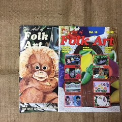 Magazine - The Art of Folk Art Vol 8 and Vol. 14