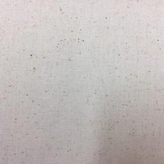 Cream Cotton Fabric with slight fleck