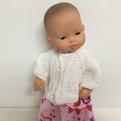Miniland Dolls Knitted Cardigan to fit 32cm Dolls