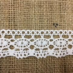 Cream Cotton Lace