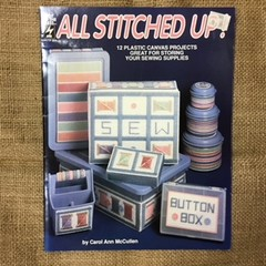 Book - Plastic Canvas Book called All Stitched Up!