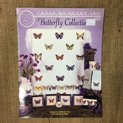 Book - Cross Stitch - Butterfly Collection