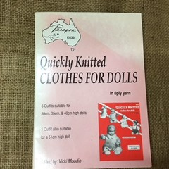 Book - Paragon K633 Quickly Knitted Clothes for Dolls