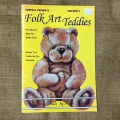 Book - Folk Art Teddies Volume 4 by Lyla Kimble