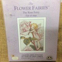 Flower Fairies counted cross stitch kit