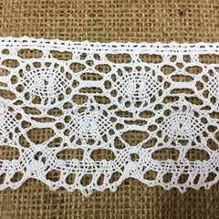 Wide Cotton Lace 7cm Wide