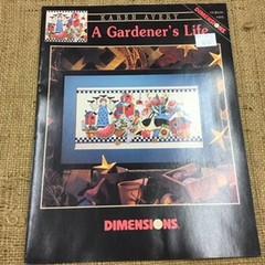 Cross Stitch Leaflet - A Garden's Life by Karen Avery