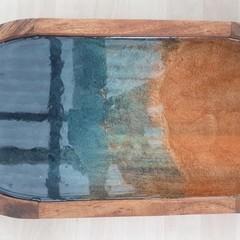 Resin Art Serving Tray