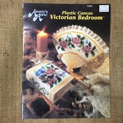 Plastic Canvas Book - Victorian Bedroom