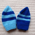 *Special * 2 beanies: (1-3yrs): Washable, boy, winter, soft