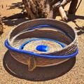 PERSONALISED Handwoven Pine Needle Spiritual Healing Basket  (MedLrg-Sculptural)