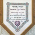 Celtic Wedding Sampler by JoAnne Mason for D-D Designs