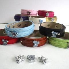 Kids Slide Wristband Bracelet Adjustable
