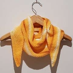 Banana split scarf