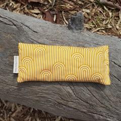 Yellow Eye Pillow