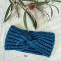 Adult Ladies Vintage Hand Crochet Knitted Earwarmers / Headbands