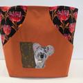 Koala Tote Bag Kangaroo pocket