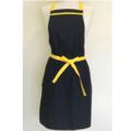 Black and Yellow trim Womens Kitchen Apron FREE Post!
