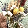 Country - Dry bouquet - Dried & preserved flowers - 39cm - Natural - Boho