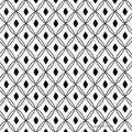 2 Paper Napkins for Decoupage / Parties / Weddings - Black White Pattern