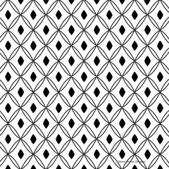 2 Paper Napkins for Decoupage / Parties / Weddings - Black White Pattern