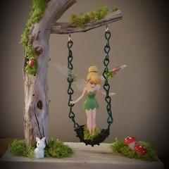 'Wooden Fairy Swing'