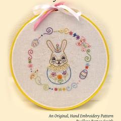 Vanilla Bunny ~ a PDF embroidery pattern with Johanna Parker Design
