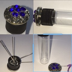 Magic Needle Vials - Blue