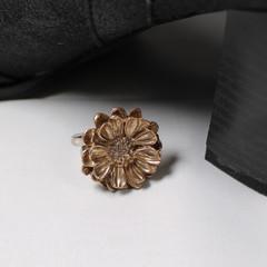 Dandy, Dandelion Adjustable Finger Ring