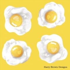 2 Paper Napkins / Serviettes for Decoupage / Parties / Weddings - Eggs
