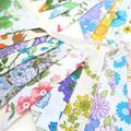 Vintage Retro Flower Power 'Multi-Colour Garden Party' Floral Flag Bunting x 2