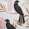 Australian Flora & Fauna - Black Cockatoos - Cushion Cover