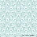 2 Paper Napkins / Serviettes for Decoupage / Parties / Weddings - Art Deco Blue