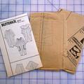 Butterick pattern 5073 Baby Jumpsuit size L - XL, UNCUT